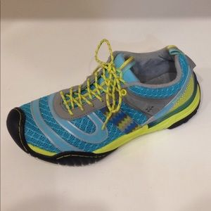 Jambu Turquoise with Neon Yellow Athletic Shoe